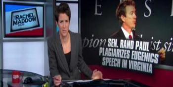 Rand Paul Plagiarizes From Wikipedia, Rachel Catches Him