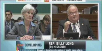Sec. Sebelius Tells GOP Rep It Would Be Illegal For Her To Enroll In Obamacare