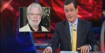 Colbert Rips Richard Cohen For Racist Op-Ed