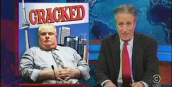 Stewart Blasts Toronto Mayor: 'This F**king Guy Is A One-Man Episode Of COPS'