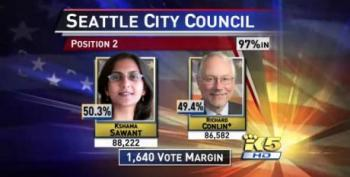 Occupy Wall St's Kshama Sawant Claims Seat On Seattle City Council