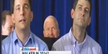 Walker Admits 'Love' For Paul Ryan: 'If He Had A Fan Club, I'd Be The President'
