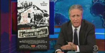 Stewart Skewers The Media For Comparing Obamacare Rollout To Katrina