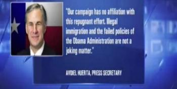 Abbott Responds To Former Staffer's To 'Illegal Immigrant' Game By Linking Wendy Davis To 'Satan'