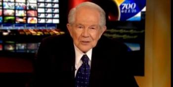 Pat Robertson Yells 'Revolution!' After Saying 'People Will Die' From Obamacare