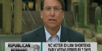 McCrory: 'We Compacted The Calendar!'