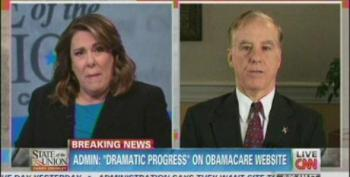 Candy Crowley Pushes Howard Dean To Question President's Leadership