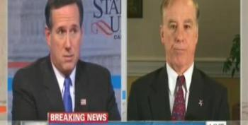 Santorum Complains That 'Sicker, Older' People Are Getting Insurance