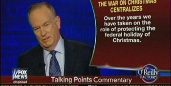 O'Reilly Promises To Hype Fake 'War On Christmas' Once Again This Year