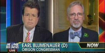Fox's Cavuto Shouts Over Democratic Congressman On Need For Infrastructure Spending