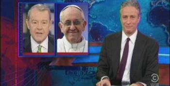 Jon Stewart Slams Stuart Varney For Telling The Pope How To Do His Job