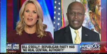 Grifter Herman Cain Hints He'll Join The GOP Clown-Car Again In 2016