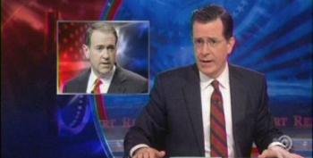 Colbert Lampoons Huckabee's '12 Days Of Obamacare' Satire