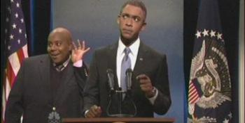 Obama Addresses Nelson Mandela Memorial Controversies In SNL Cold Open