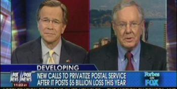 Fox Panel Continues Push To Privatize The Post Office