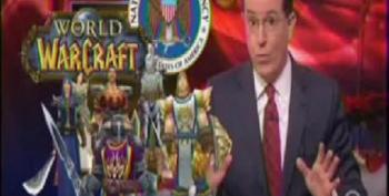 Colbert: NSA Spying On Second Life, A Game For People Who Don't Have A First One