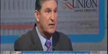 Manchin Complains That Obama Doesn't 'Pal Around' With Senators