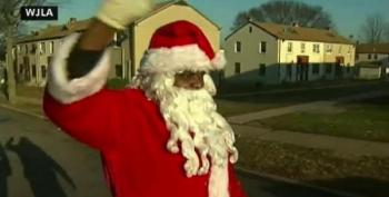 News Video Catches Black Santa Being Shot By Pellet Gun During D.C. Toy Giveaway