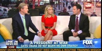 Steve Doocy:'That Bridge Thing' Ruining Coverage Of Bob Gates' Obama-bashing