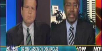 Fox's Ben Carson Revives Lie That Obamacare Is 'Most Massive Tax Increase In The History Of America'