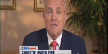 Rudy Giuliani: Bridge Scandal Just Like IRS, Benghazi