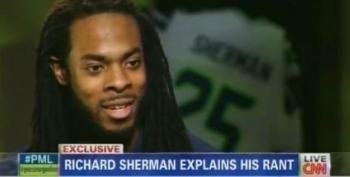 Richard Sherman Apologizes For His Postgame Rant