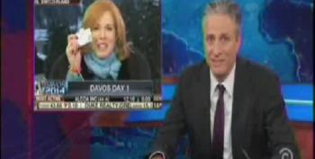 Jon Stewart Slams 'Financial Journalists' For Fawning Davos Coverage