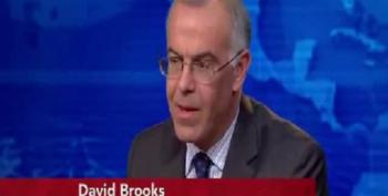 David Brooks Very 'Concerned' About Income Inequality Affecting Our Public Debate