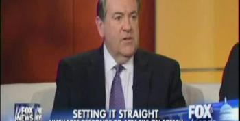 Huckabee Whines That His 'Libidos' Comments Were Taken Out Of Context