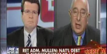 Ben Stein Throws Cold Water On Fox Panel Fearmongering Over National Debt