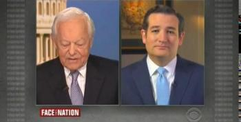 CBS Host Laughs In Ted Cruz's Face After He Repeatedly Denies Shutting Down Government