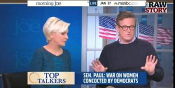 Joe Scarborough: Hillary Can't Argue About GOP's Transvaginal Probes After Bill's Affair