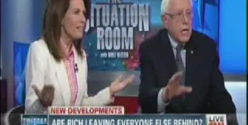 Bernie Sanders Beats Head Against Wall Attempting To Debate Michele Bachmann
