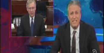 Jon Stewart Rips Apart GOP For Bullshit Claim They Want To Work With Obama