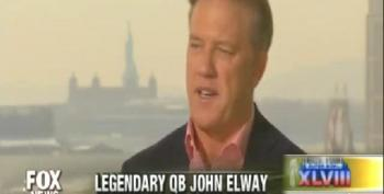 John Elway Tells Fox Host: 'I Don't Believe In Safety Nets' So I Support GOP