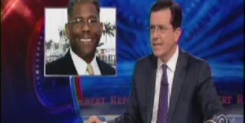 Colbert Makes A Mockery Of Right Wing Freakout Over Super Bowl Coke Ad