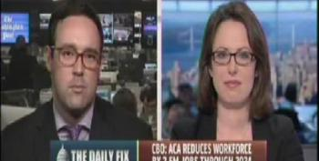 Chris Cillizza Excuses Media's Sloppy Reporting On CBO
