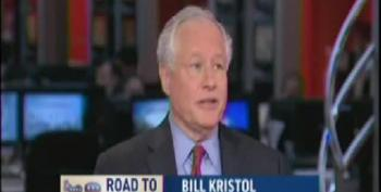 Bill Kristol Loses His Mind When Chuck Todd Points Out Palin Is A Grifter