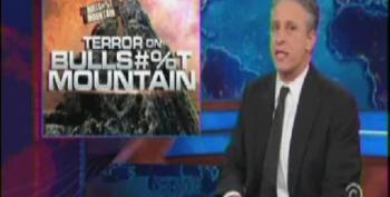 Jon Stewart Revisits Bullsh*t Mountain Following Fox Freakout Over CBO Report