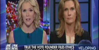 Fox's Kelly Props Up True The Vote Engelbrecht's Trumped Up Ethics Charges Against Rep. Cummings