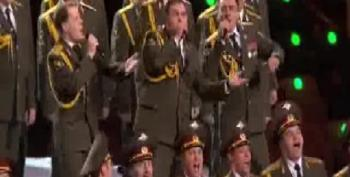 Daft Punk's 'Get Lucky' (Performed By The Russian Police Choir)