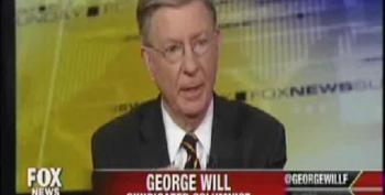 George Will Complains That Obamacare, Like Social Security, Is A Disincentive To Work