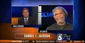 Samuel L. Jackson Destroys KTLA's Sam Rubin