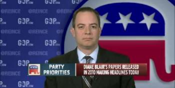 Reince Priebus Is Very Excited To Use Tepid Hillary Papers