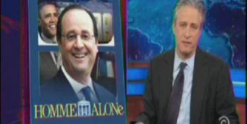 Jon Stewart Skewers Media Coverage Of French President's Visit