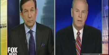 Chris Wallace Attacks Ted Strickland For 'Shadowing' Chris Christie