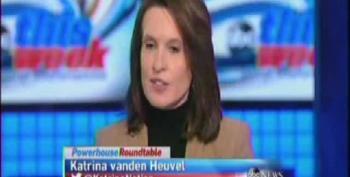 Katrina Vanden Heuvel Challenges Conventional Wisdom On Health Care Law