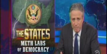 The Daily Show Features The States: 'Meth Labs Of Democracy'