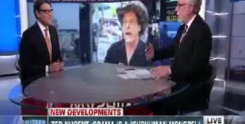 CNN's Blitzer Let's Rick Perry Play False Equivalency Game With Maher And Nugent