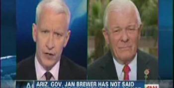 Anderson Cooper Takes Apart Arizona State Senator For His Defense Of Anti-Gay Bill